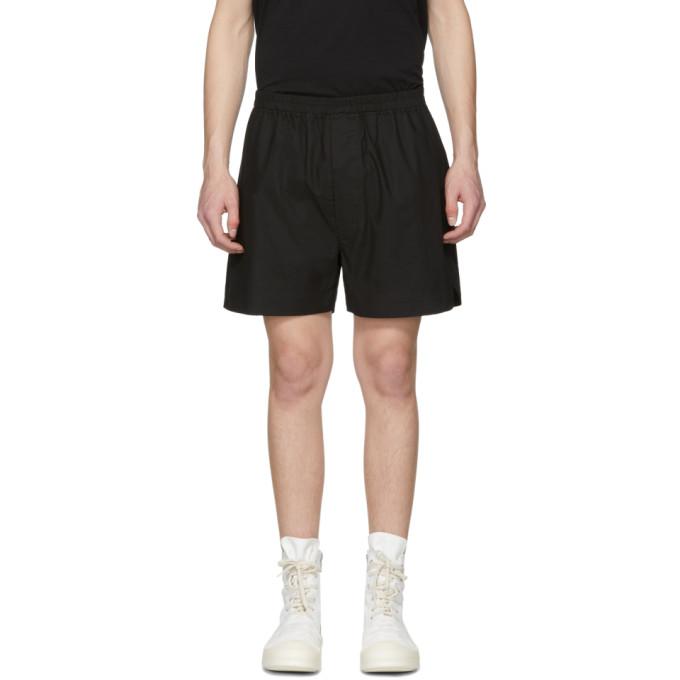 Image of Rick Owens Drkshdw Black Boxer Shorts
