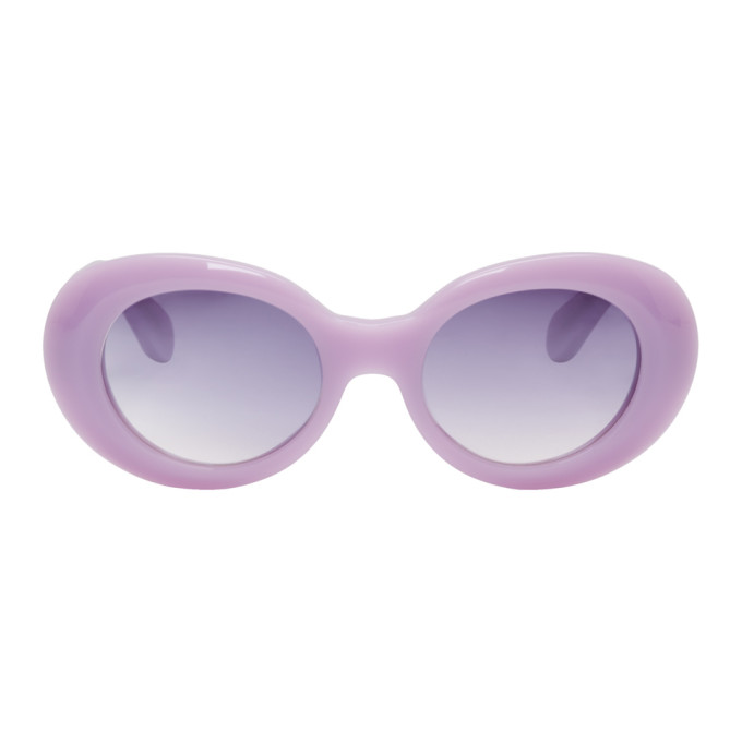 Acne Studios Purple Mustang Sunglasses