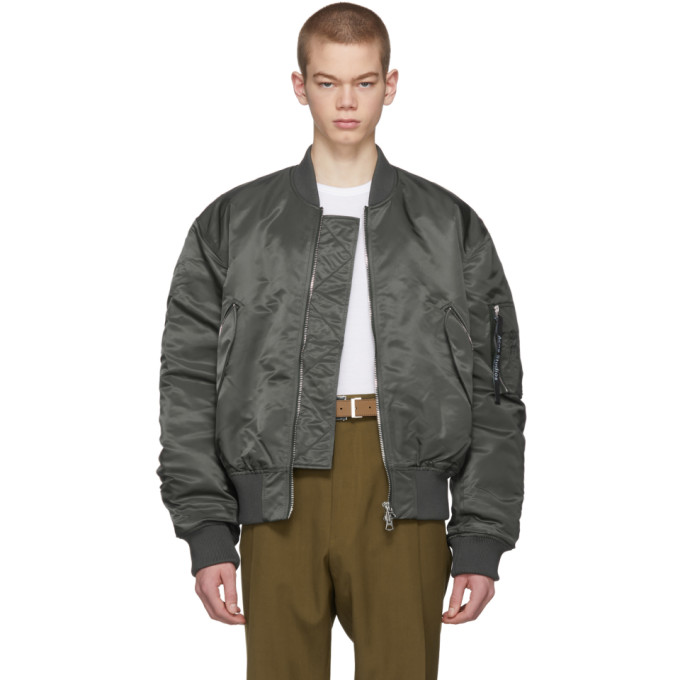 Acne Studios Blue Makio Bomber Jacket