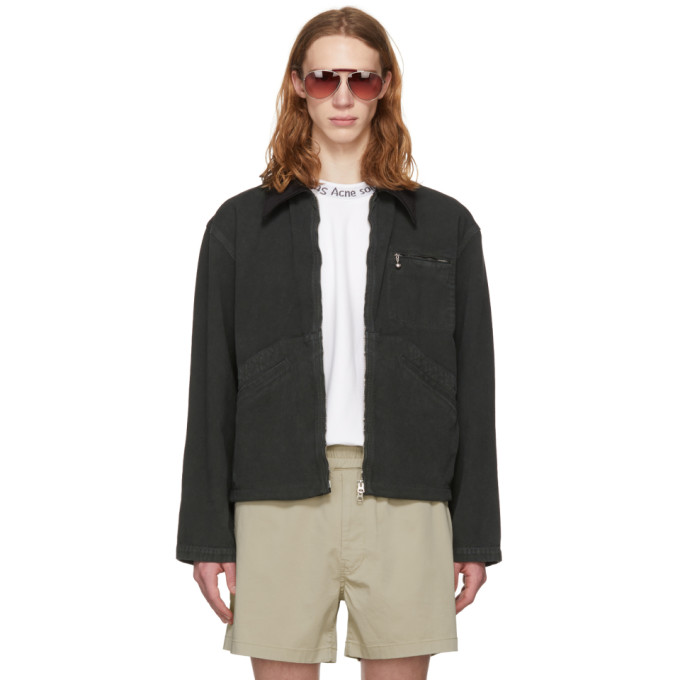 Acne Studios Black Marlon Jacket
