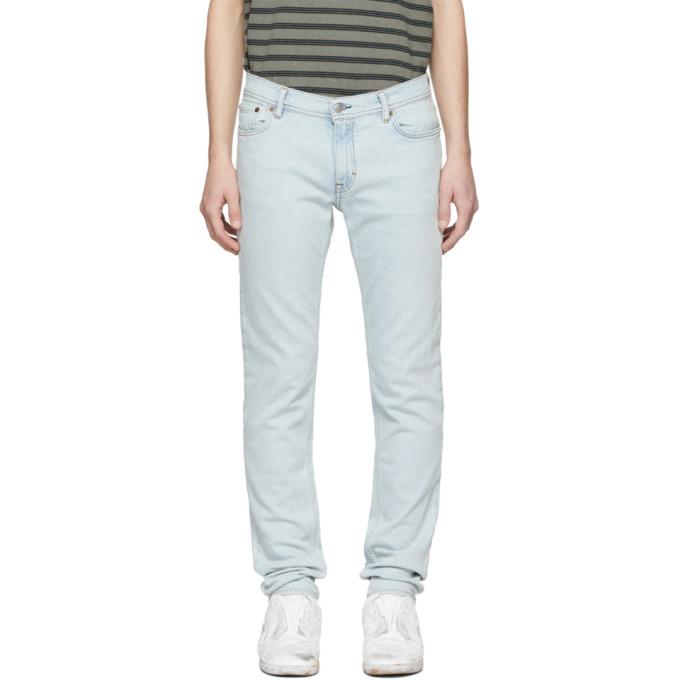 Acne Studios Blue Blå Konst Light North Jeans