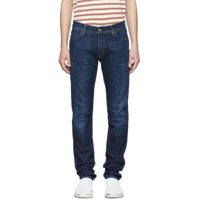 Acne Studios Blue Bla Konst Dark North Jeans