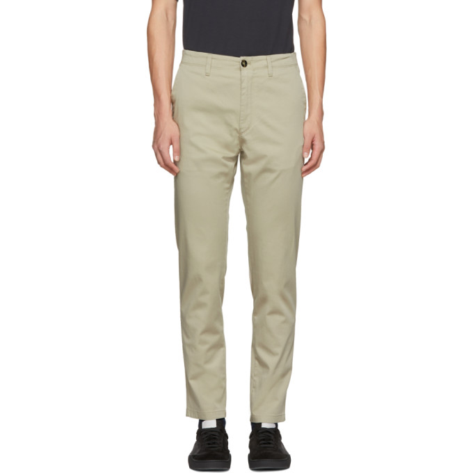 Image of Acne Studios Beige Ayan Trousers