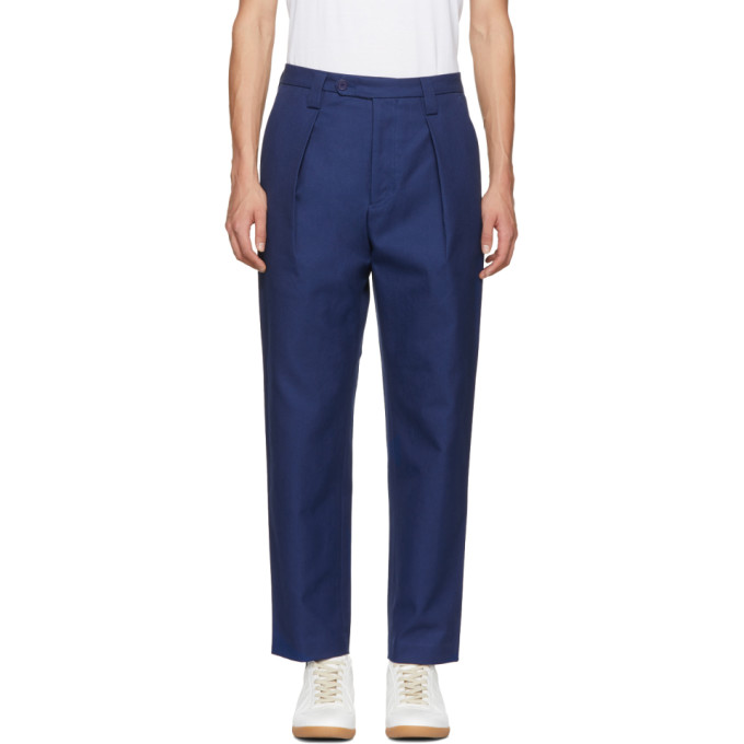 Acne Studios Blue Ayran Trousers