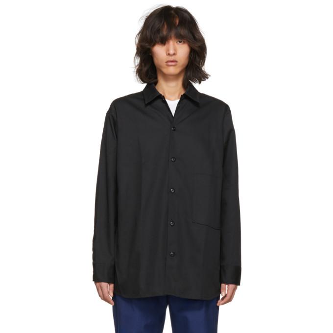 Acne Studios Black Lowis Shirt