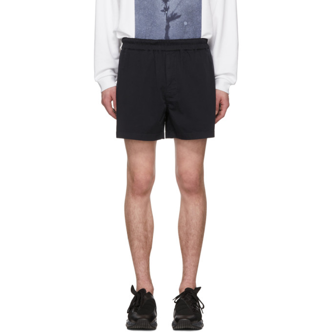 Acne Studios Navy Alvin Shorts