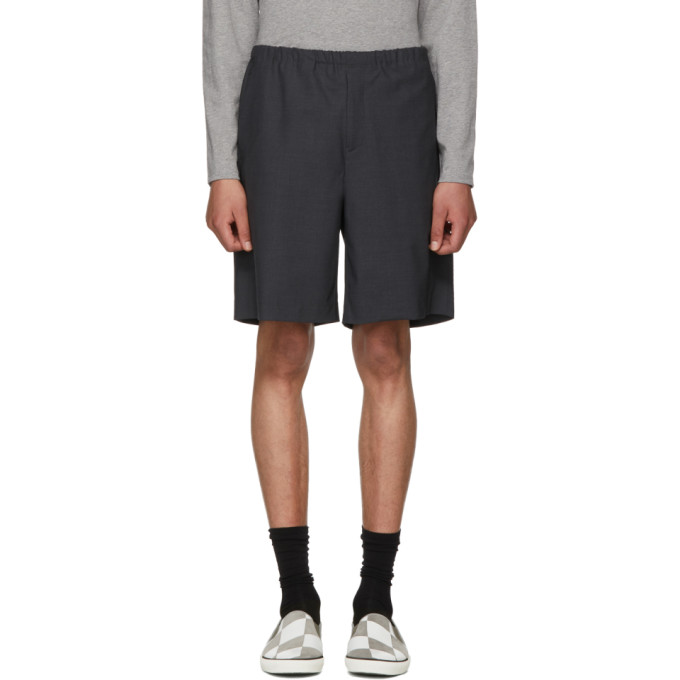 Acne Studios Grey Ari Shorts