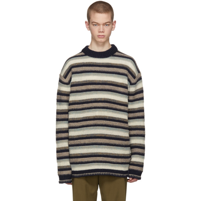 Acne Studios Multicolor Striped Najat Sweater