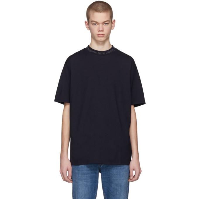 Acne Studios SSENSE Exclusive Navy Navid T-Shirt