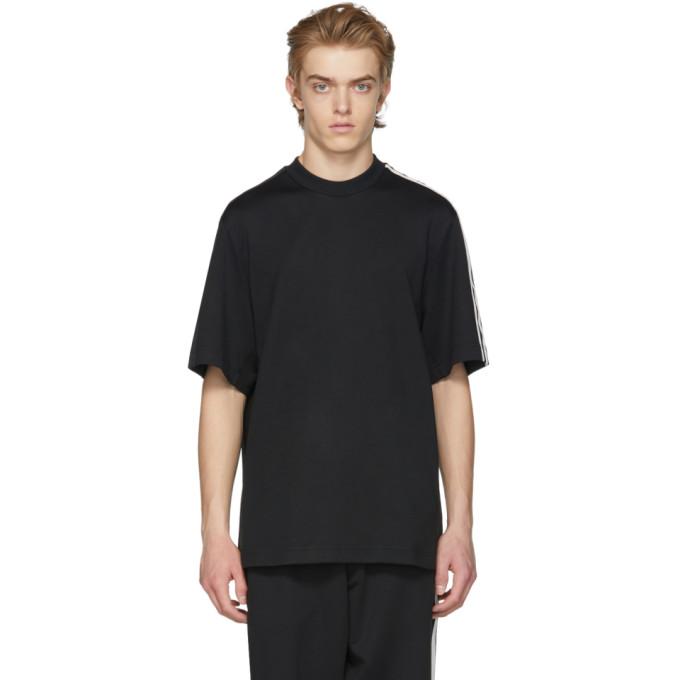 Image of Y-3 Black 3-Stripes T-Shirt