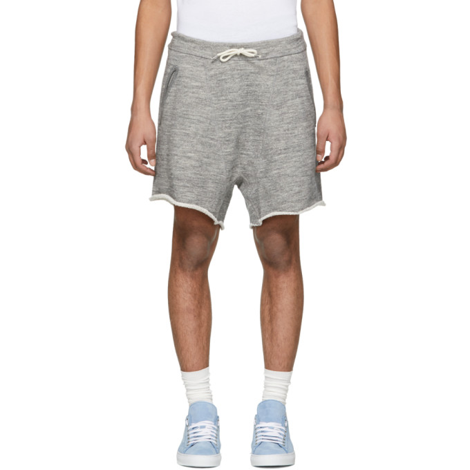 Dsquared2 Grey Super Over Fit Shorts