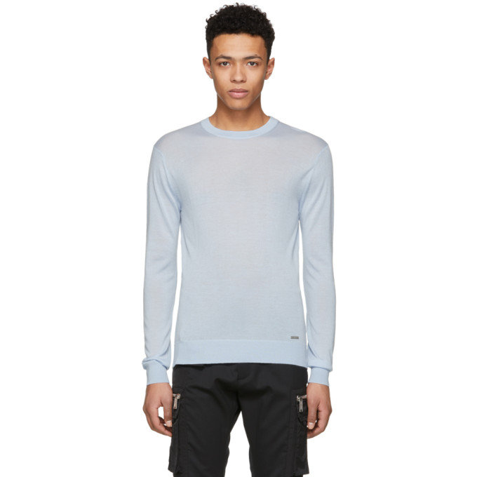 Dsquared2 Blue Cashmere Sweater