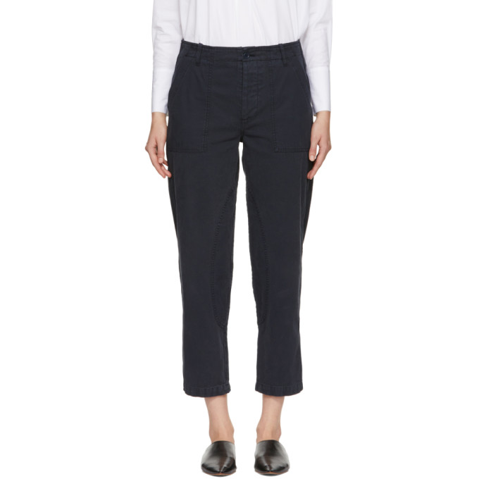 Image of YMC Navy Nam Trousers