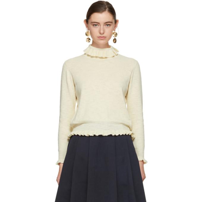Image of YMC Ecru Bella Sweater