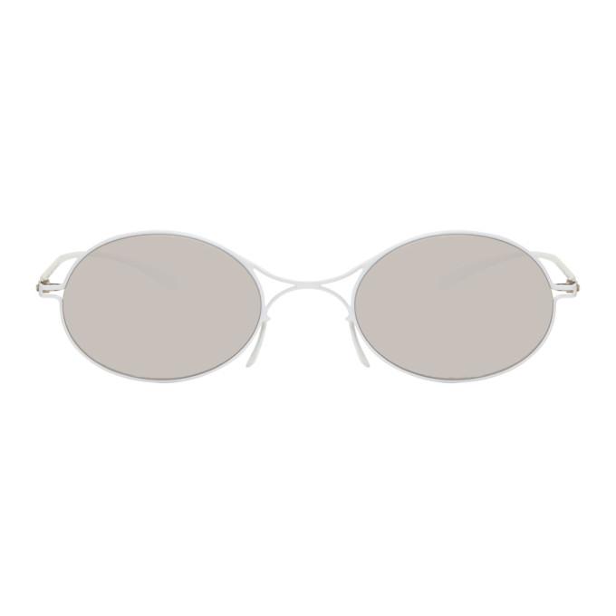 Maison Margiela White Mykita Edition MMESSE001 Sunglasses
