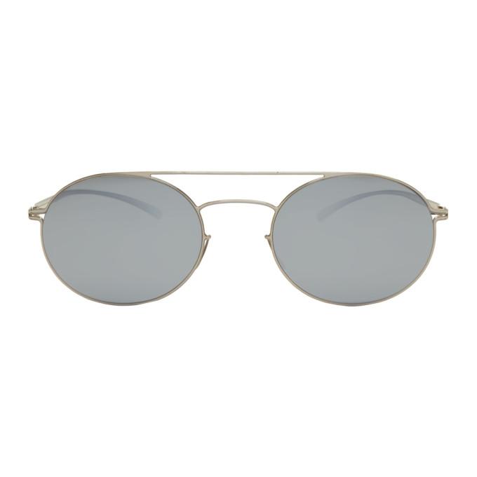 Maison Margiela Silver Mykita Edition MMESSE019 Sunglasses