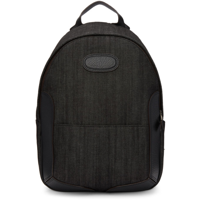 Maison Margiela Black Denim Backpack