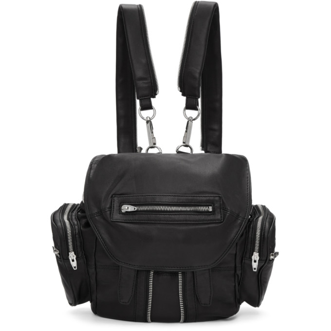 Alexander Wang Black Mini Marti Backpack