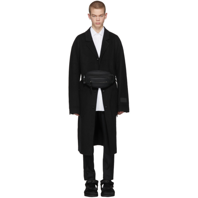 Alexander Wang Black Classic Black Splittable Wool Coat