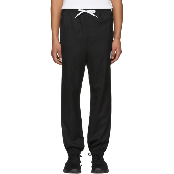 Alexander Wang Black Wool Custom Track Pants
