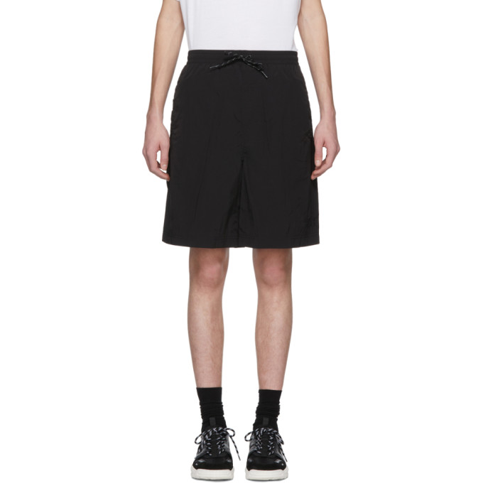 Alexander Wang Black Classic Black Piped Shorts