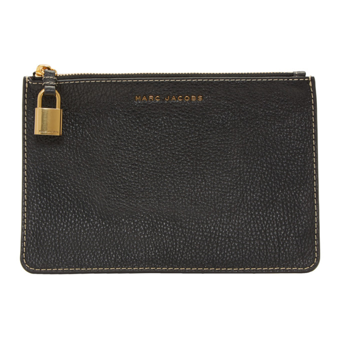 Marc Jacobs Black Medium Logo Pouch