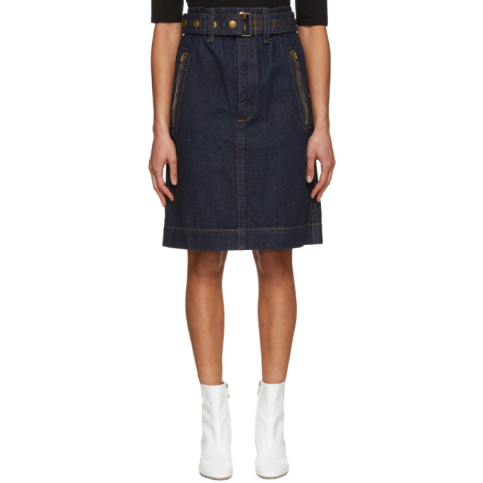 Marc Jacobs Indigo Denim Skirt