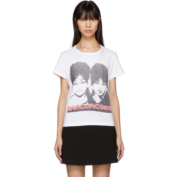Marc Jacobs White Sista Sista T-Shirt