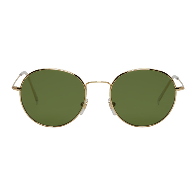 Super Gold Wire Sunglasses