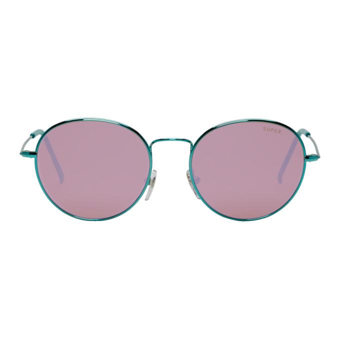 Super Green Wire Sunglasses