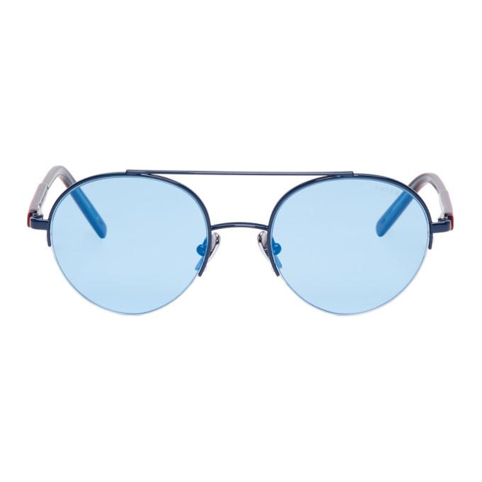 Super Blue Cooper Sunglasses