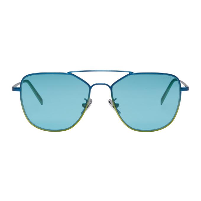 Image of Super Blue I Visionari Edition Sunglasses