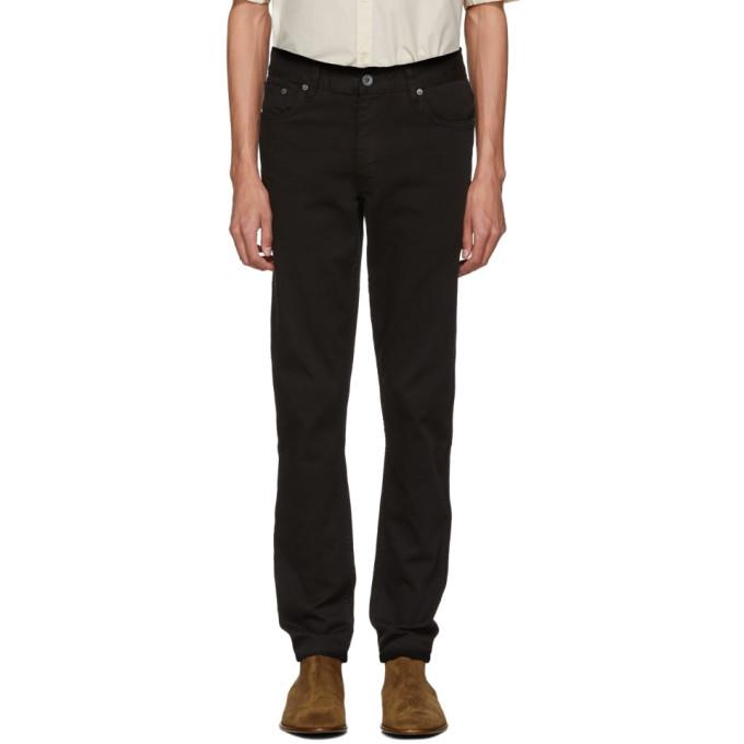 Image of Robert Geller Black Type 2 Jeans