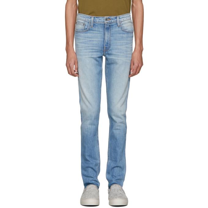 Image of Robert Geller Blue Type 2 Jeans