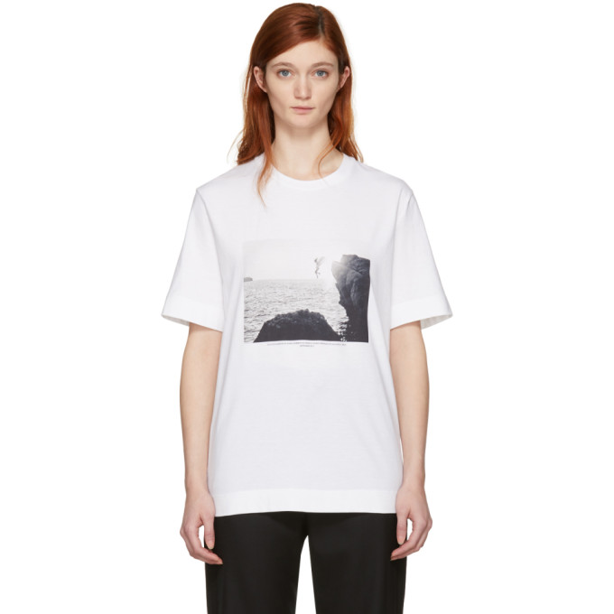 Jil Sander White Mario Sorrenti Edition 002 T-Shirt
