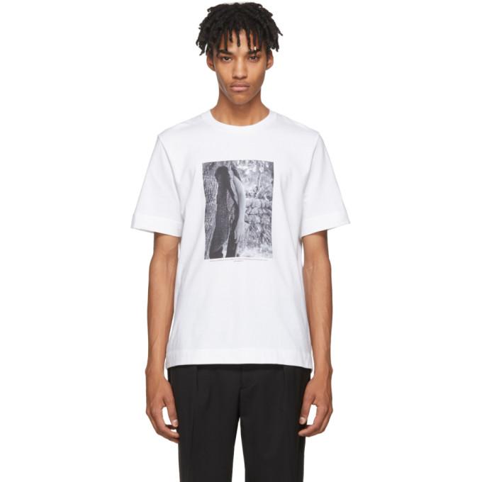 c0502088b Jil Sander SSENSE Exclusive White Mario Sorrenti Edition 009 T Shirt