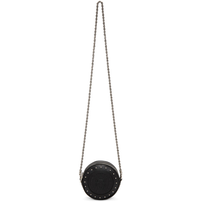 Balmain Black Renaissance Disco Mini Bag