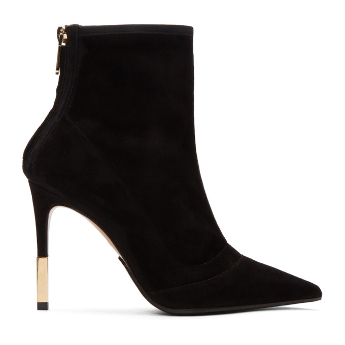 Balmain Black Blair Ankle Boots