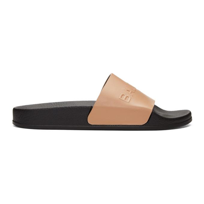 Balmain Pink Calypso Sandals