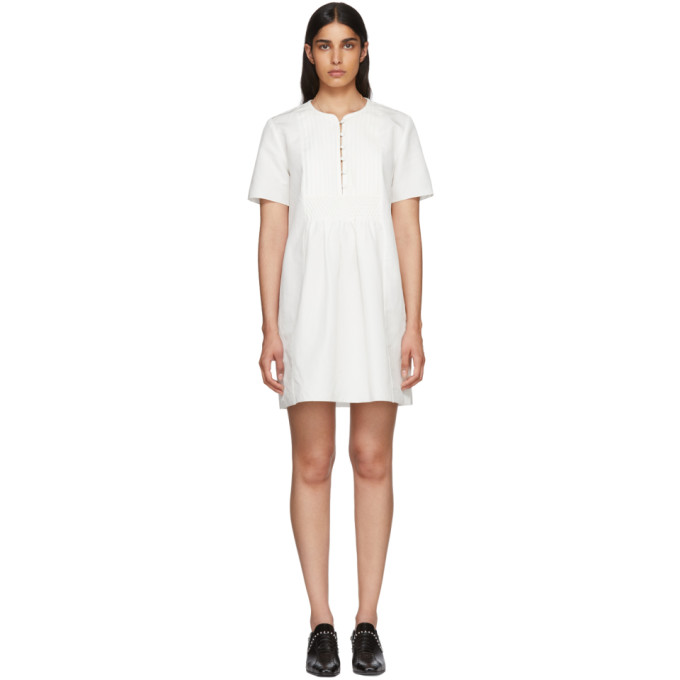 51223be170 APC Off White Christie Dress