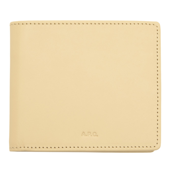 Image of A.P.C. Beige Aly Wallet