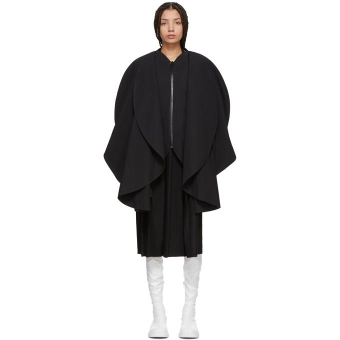 Image of Junya Watanabe Black Circle Panels Coat
