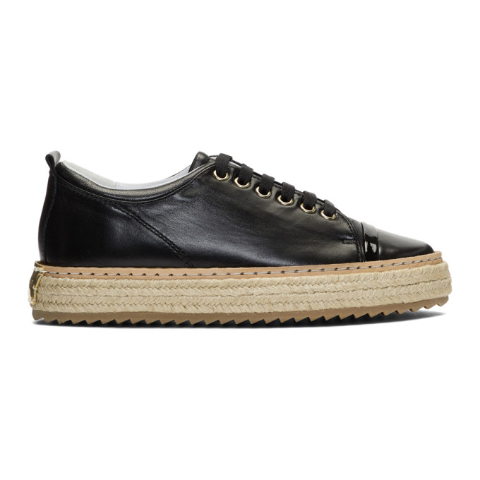 Image of Lanvin Black Base Sneakers