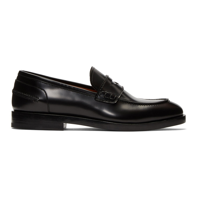 Image of Lanvin Black Classic Loafers