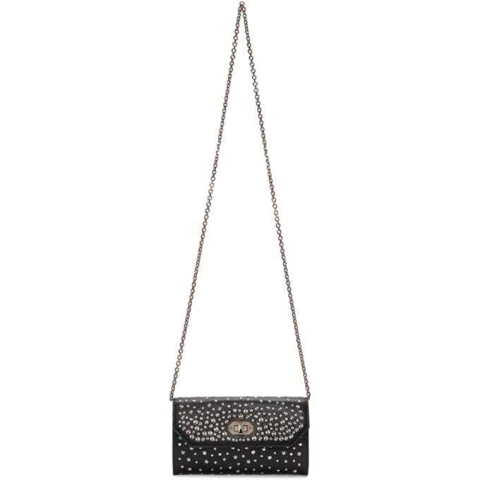 Alexander McQueen Black Studs Wallet Bag