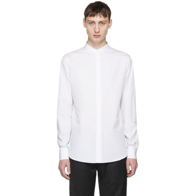 Alexander McQueen White Officer Shirt