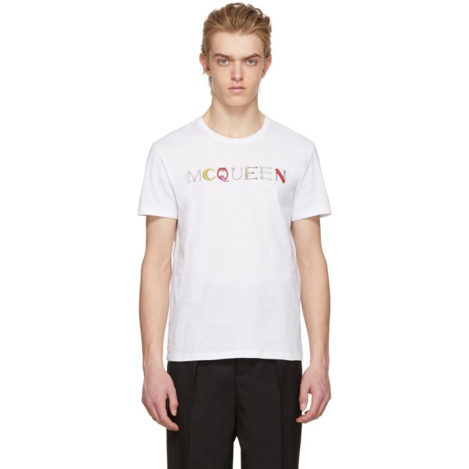 Alexander McQueen White Logo T-Shirt