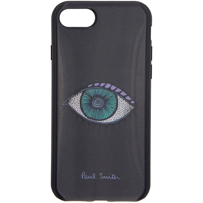 Paul Smith ブラック アイ レンチキュラー iPhone 7 ケース