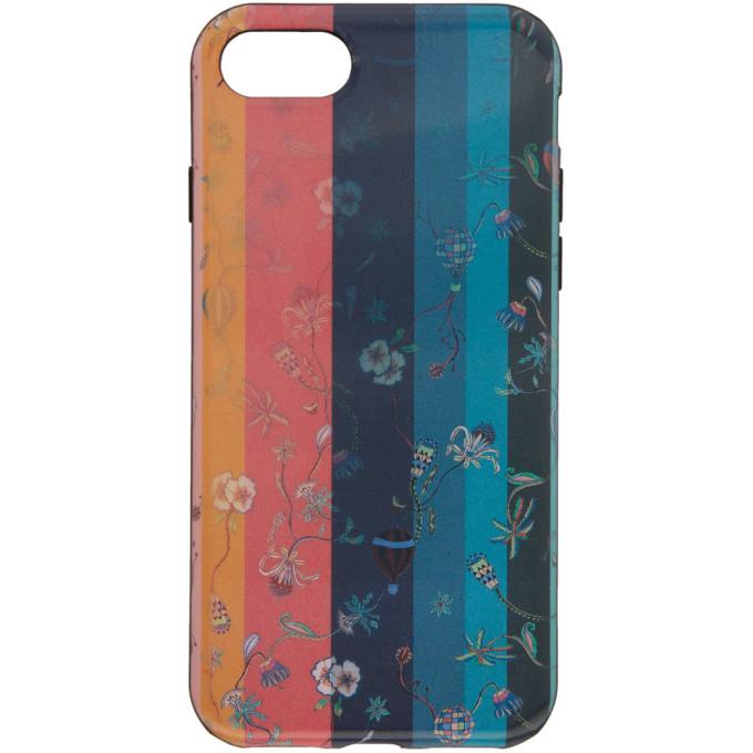 Paul Smith マルチカラー アーティスト ストライプ レンチキュラー iPhone 7 ケース