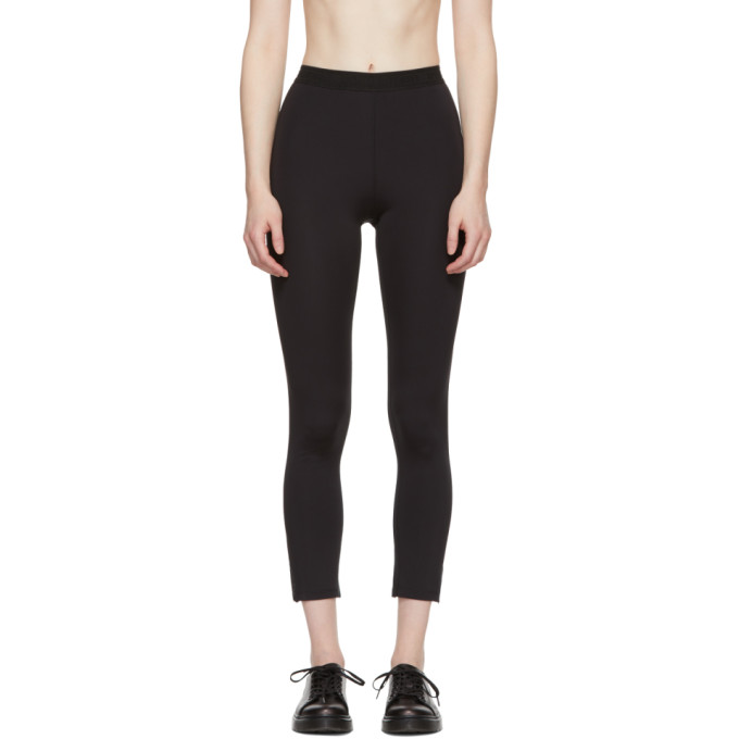 Image of Opening Ceremony Black Banded Leggings